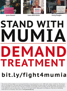 Stand with Mumia Plakat