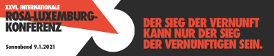 Rosa-Luxemburg-Konferez am 09.01.2022 online